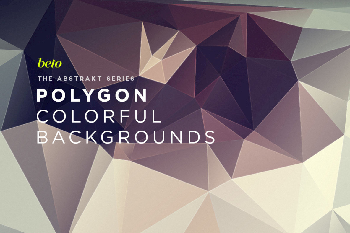 Polygon Abstract Backgrounds 13