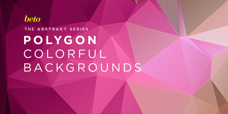 Polygon Abstract Backgrounds 14