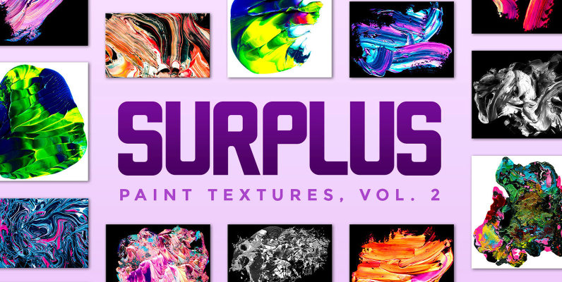 Surplus Vol  2  32 Abstract Paint Textures