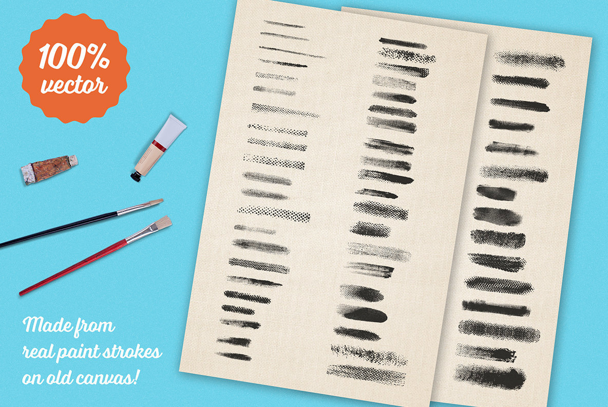 Preppy Art Brushes for Adobe Illustrator