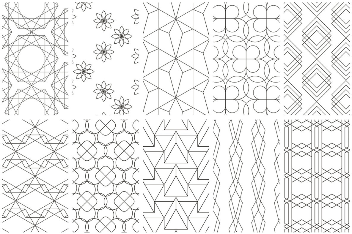 Feminine Elegant Patterns