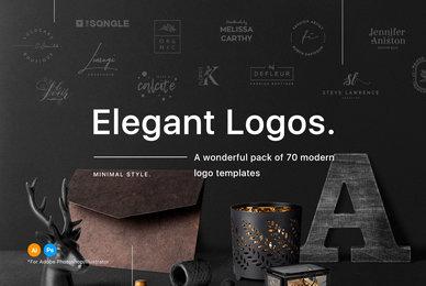70 Elegant Logo Templates