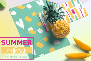 Summer Seamless Patterns