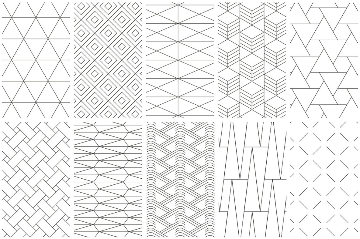Easy Geometric Patterns Custom Design Inspiration