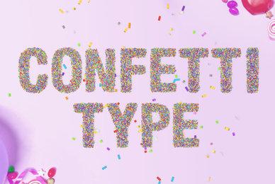 Confetti Type