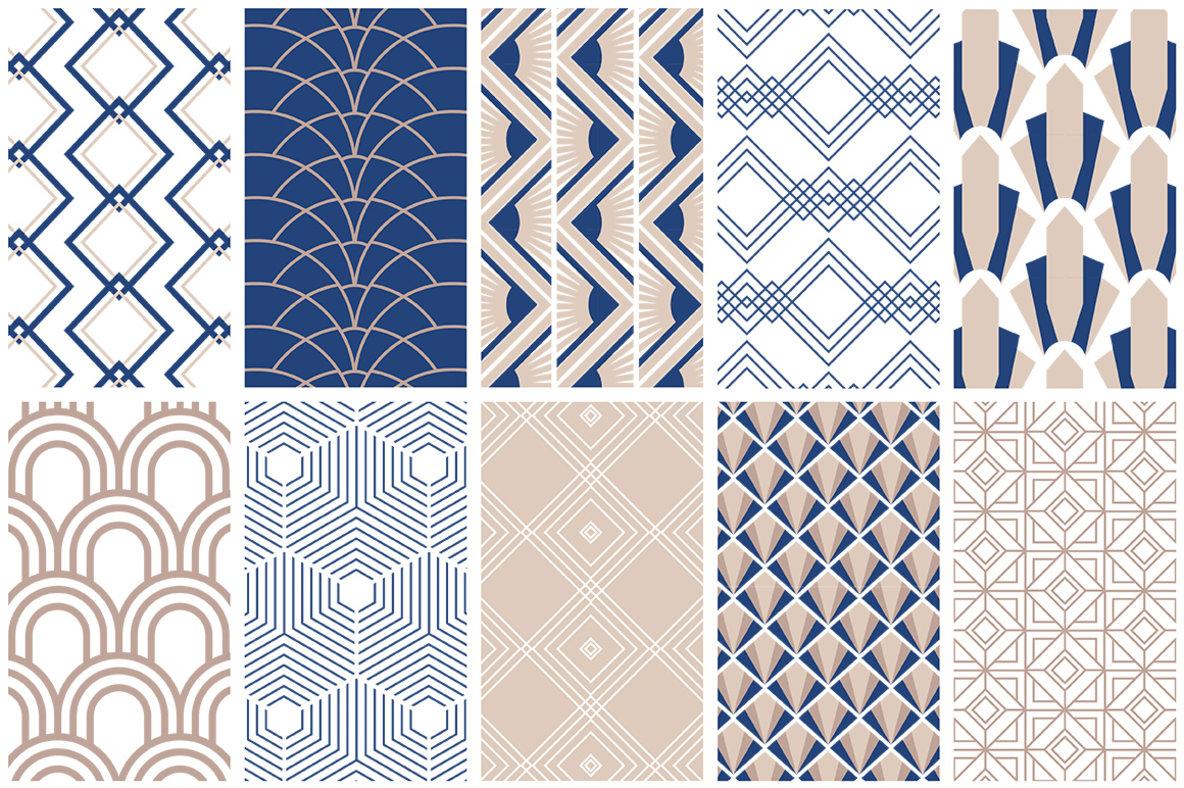 Art Deco Seamless Patterns