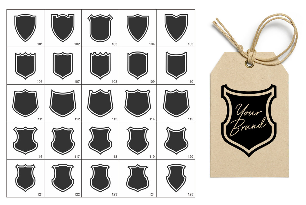 300 Logo   Badge Shields