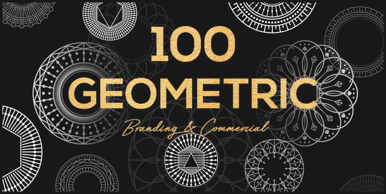 100 Geometric Shapes