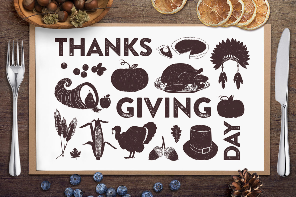 15 Thanksgiving Day Illustrations