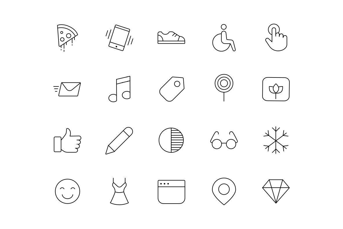 ONE Premium Icons
