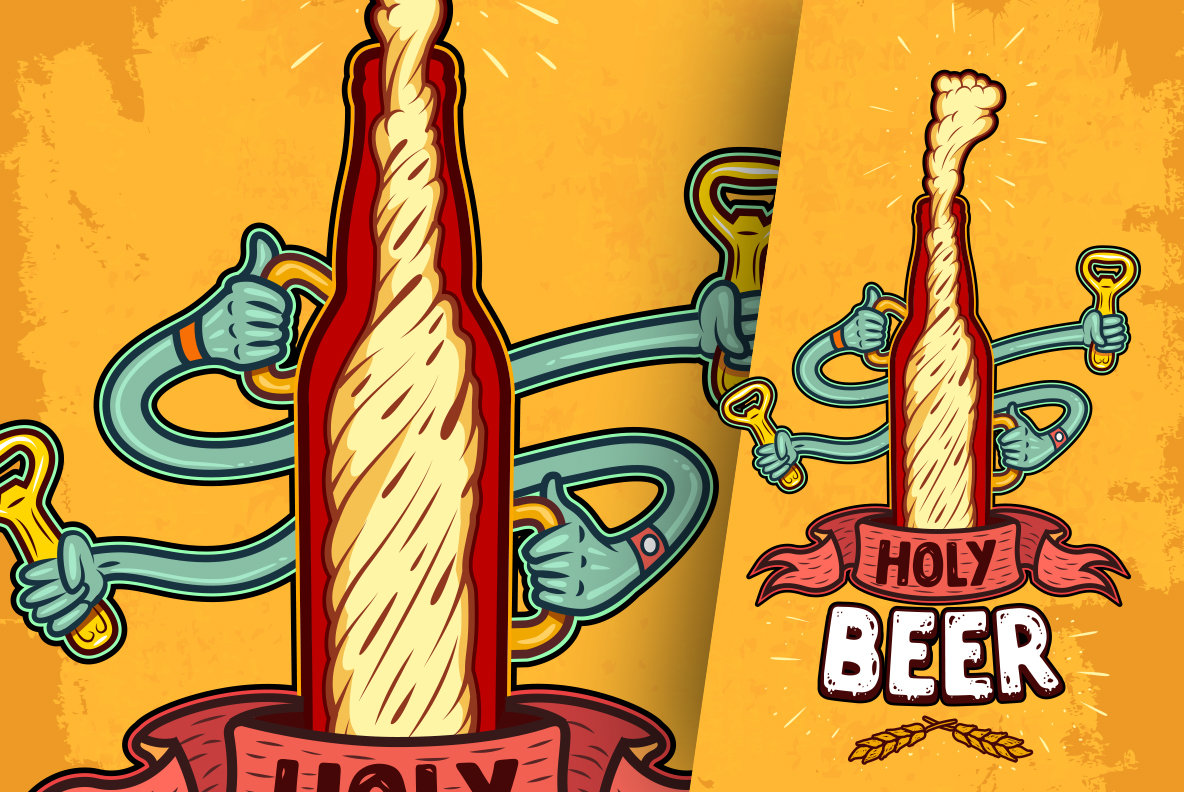 Illustrations of Beer