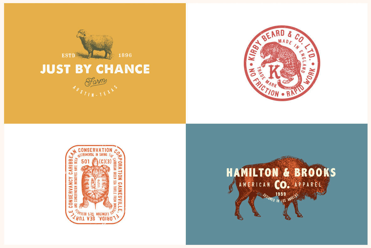 Vintage Logo Templates Vol  2