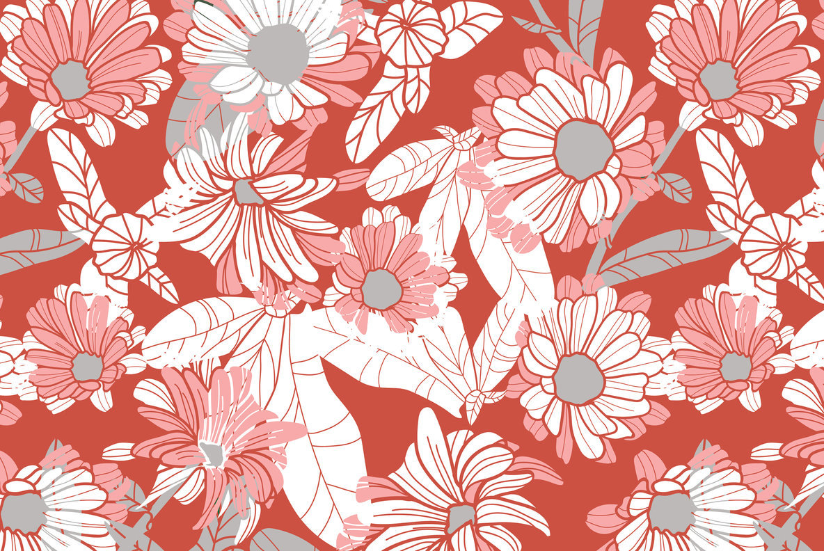 Spring Flowers Patterns