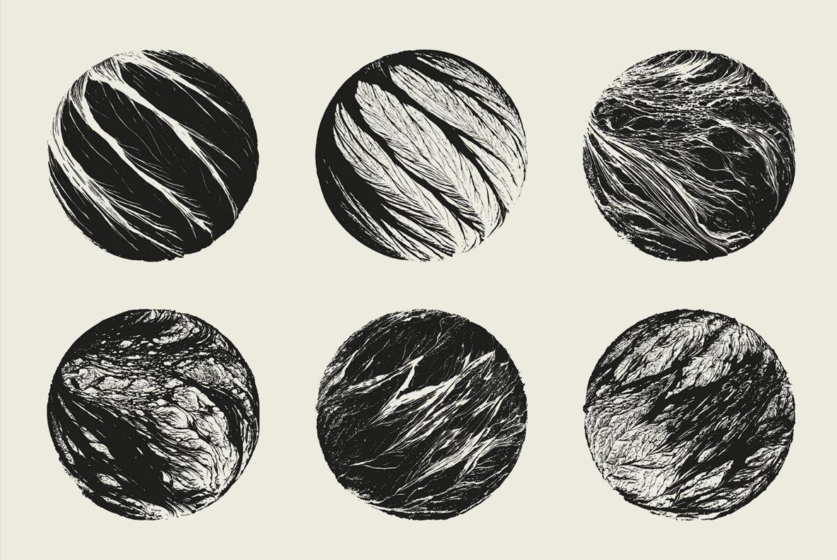 Retina Vector Illustrations