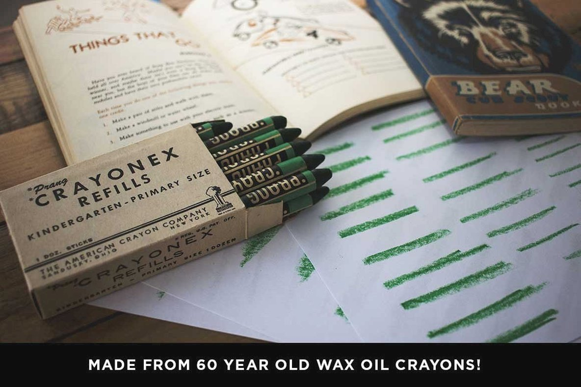 Wax   Oil Vector Brushes