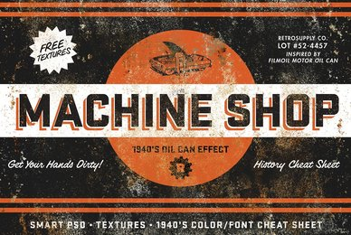 MachineShop   Vintage Tin Emulator