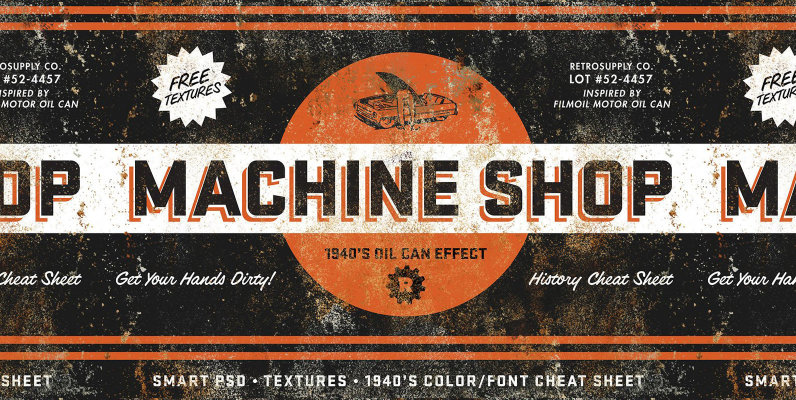 MachineShop | Vintage Tin Emulator