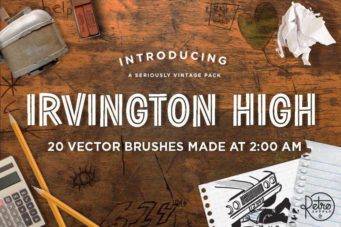 Garage Grime Vector Brush Pack