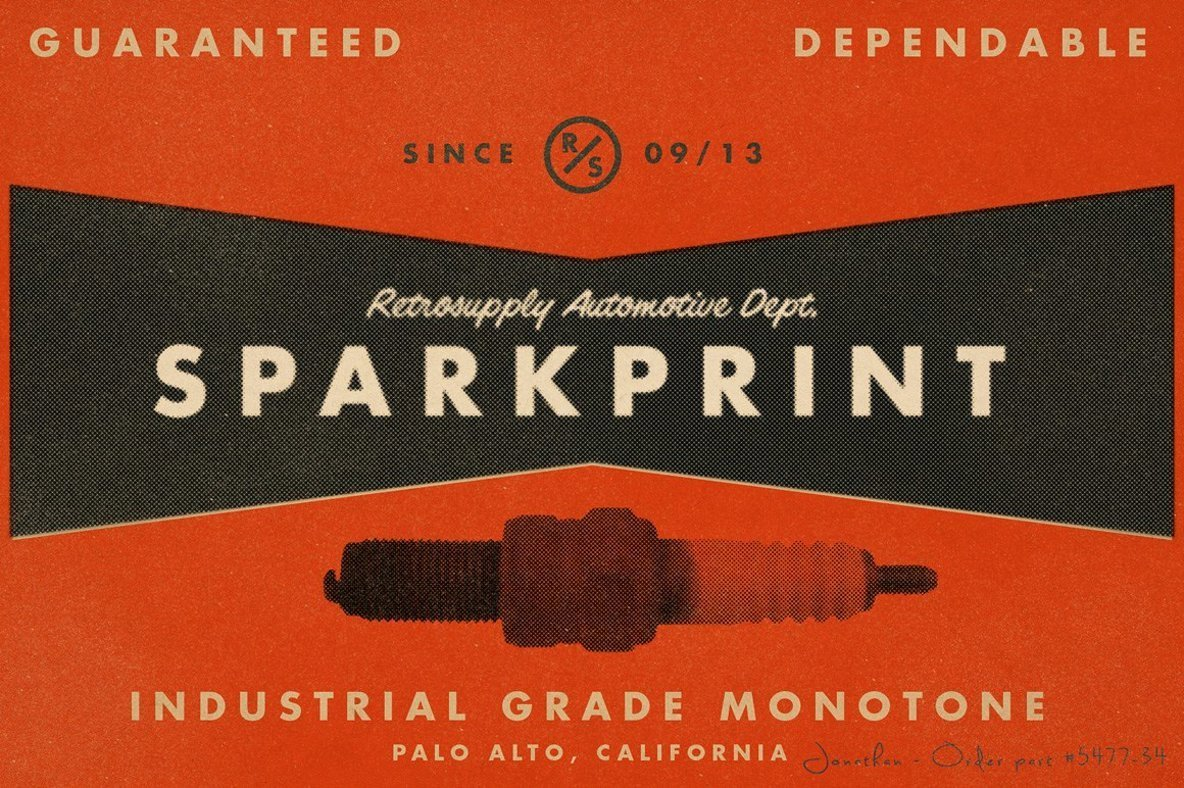SparkPrint   Your Personal Halftone Factory