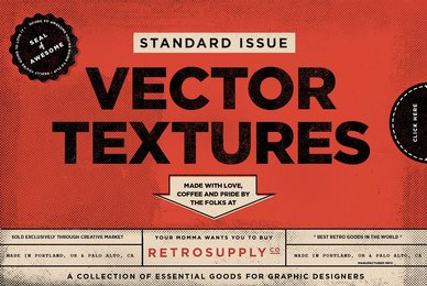 Standard Issue Vector Textures