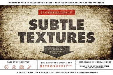 Standard Issue Grunge Overlay Textures