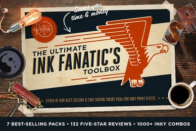 The Ink Fanatic039 s Bundle   PSD Kits