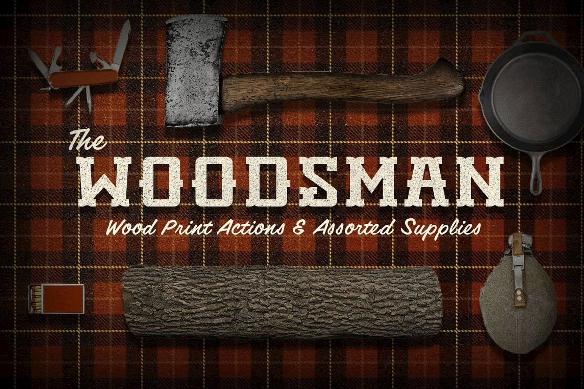 The Woodsman | Woodsy Photoshop Pack