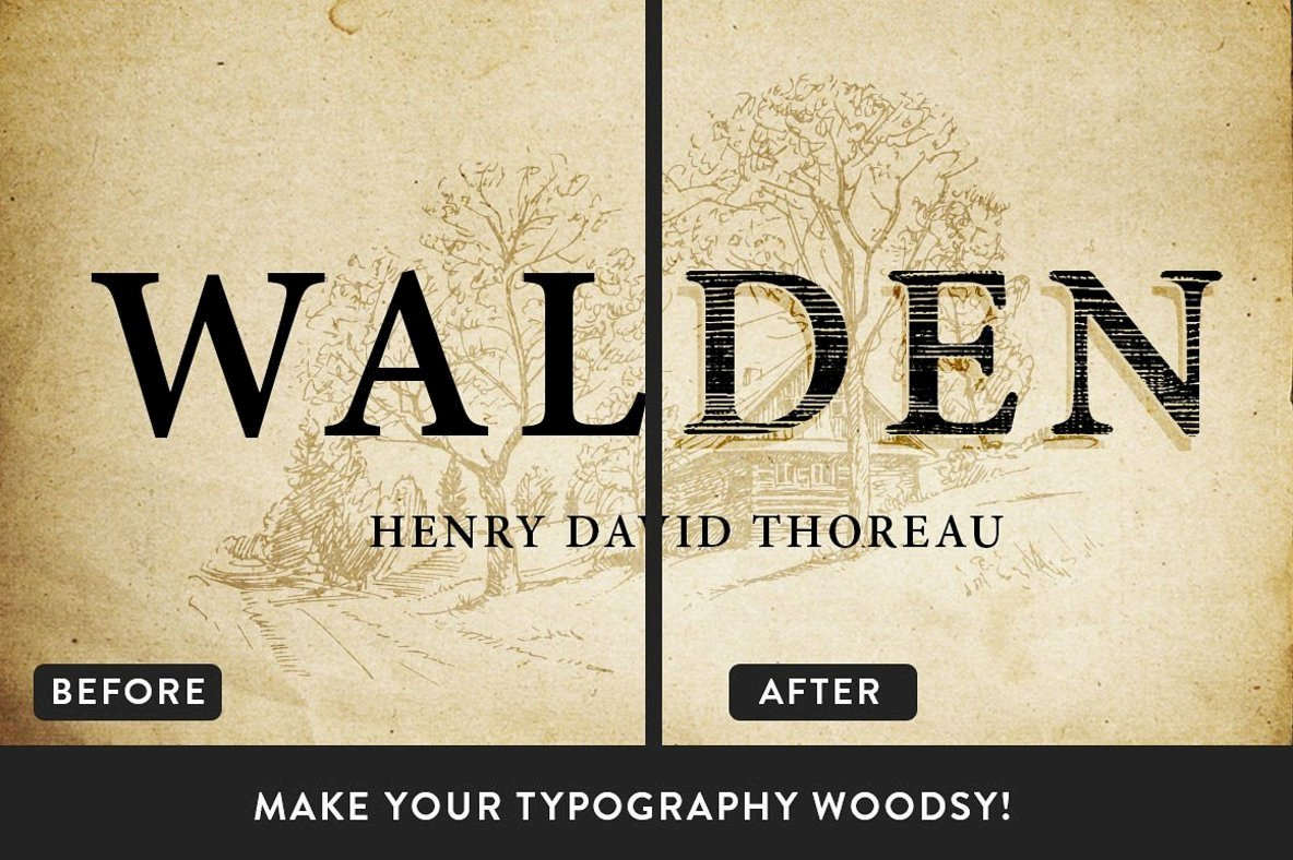 The Woodsman   Woodsy Photoshop Pack