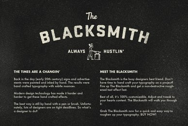 The Blacksmith   Type Roughening Action