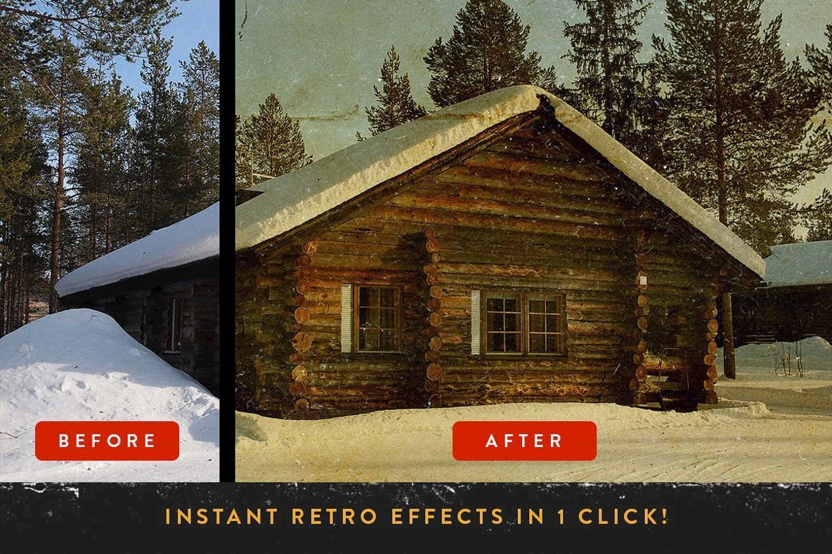 RetroLab Premium Photo Effect Kit