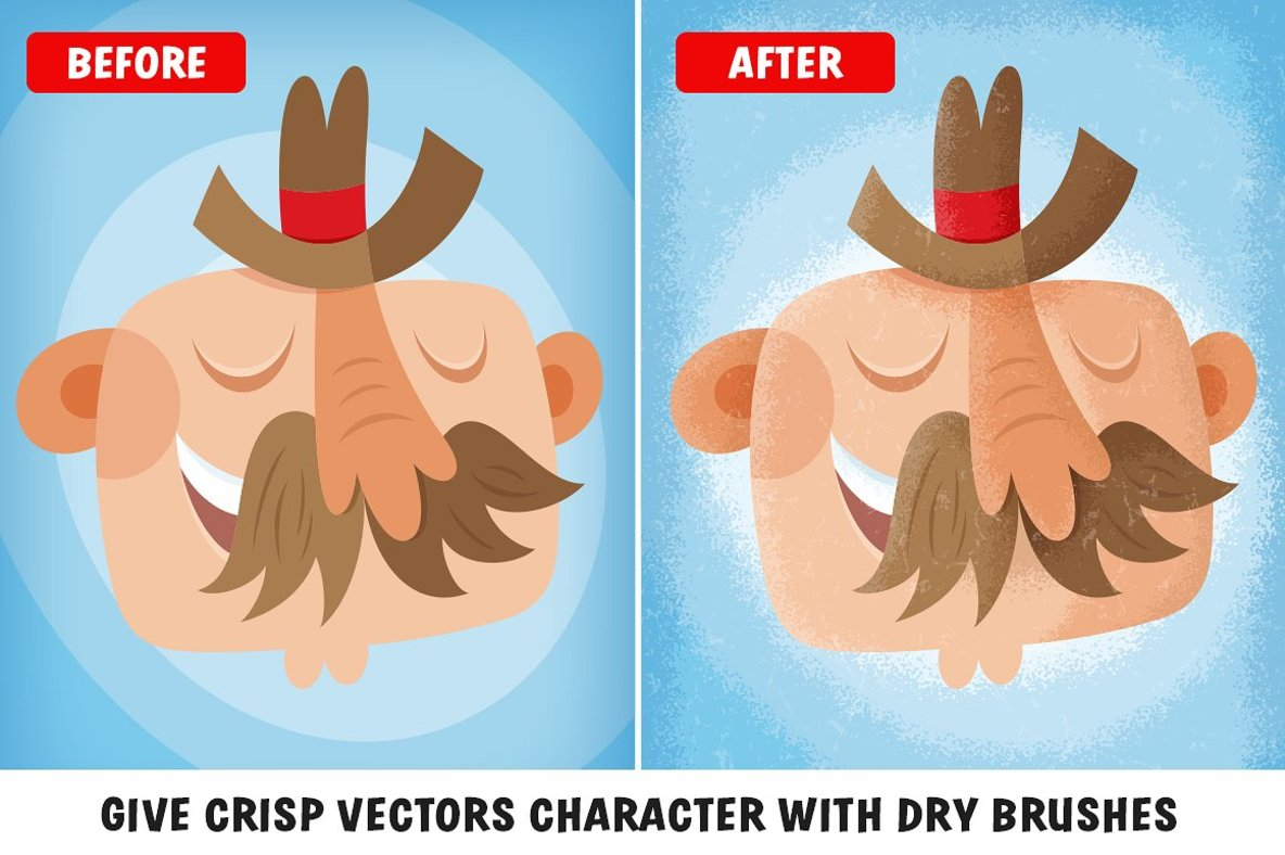 The Awesomely Organic Vector Brush Essential Bundle