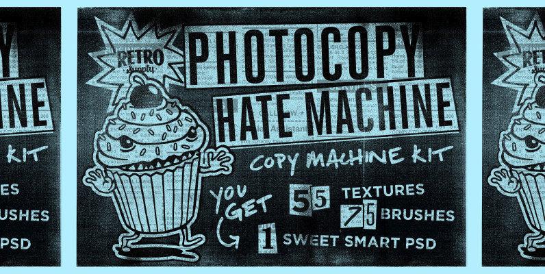The Photocopy Hate Machine   Photoshop Bundle