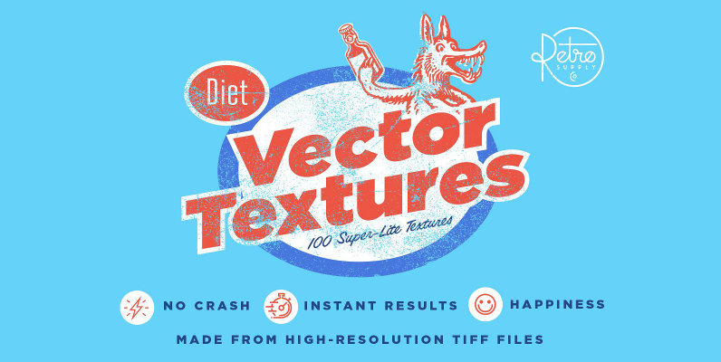 Diet Vector Textures Bundle