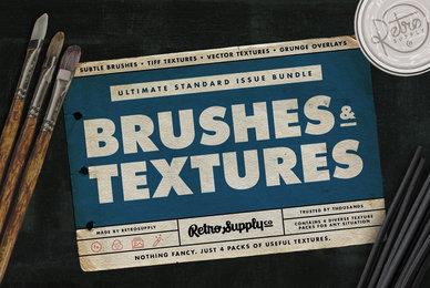 Standard Issue Brush  Texture Bundle