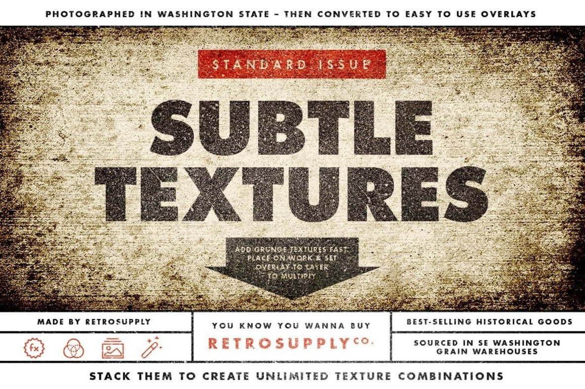Standard Issue Brush   Texture Bundle
