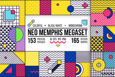 Neo Memphis Megaset