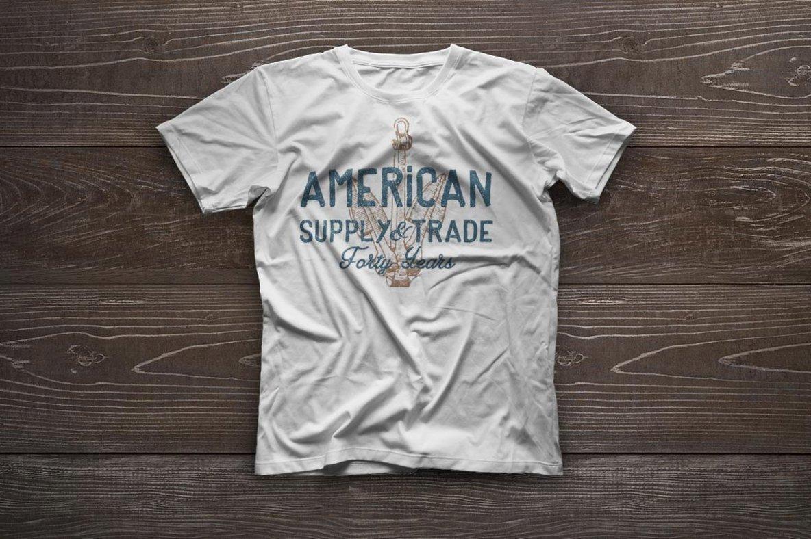 Vintage Americana Logos Vol  3