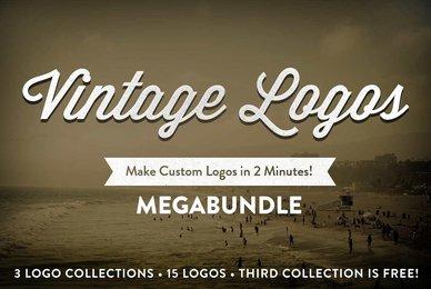 Vintage Logo Collection MegaBundle