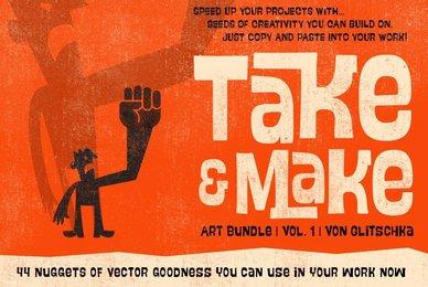 Take and Make Art Bundle