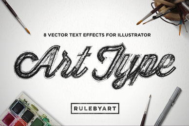 ArtType   Vector Type Effect