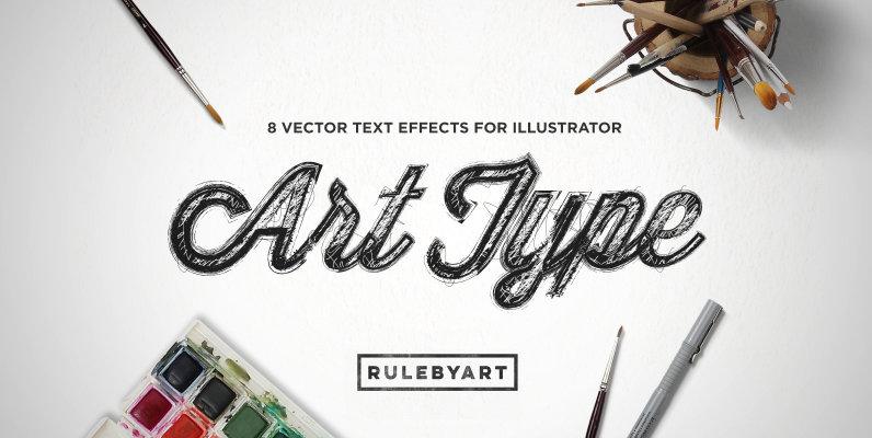 ArtType   Vector Type Effect