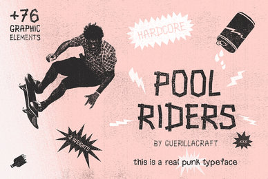 Pool Riders   Graphic Elements