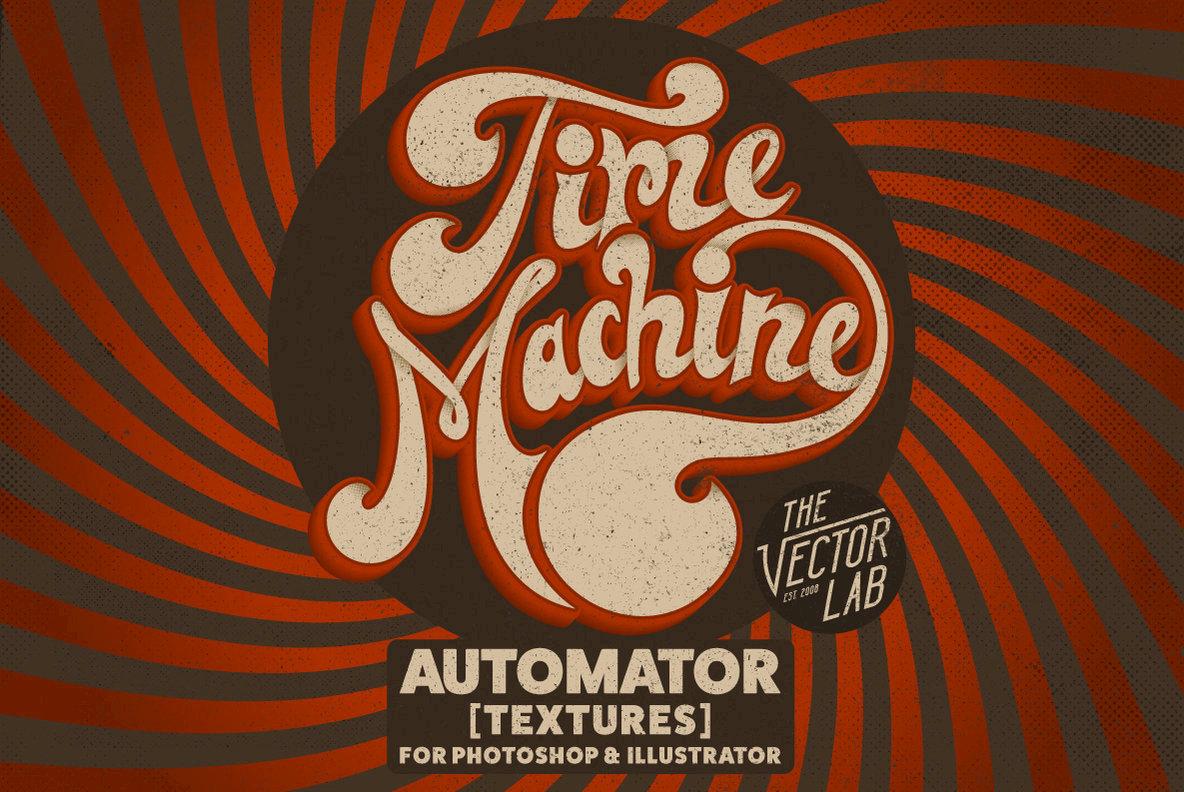 Time Machine Texture Automator