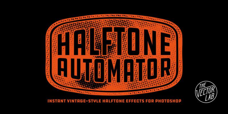 Halftone Automator