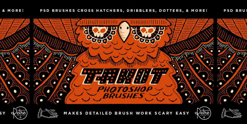 The Unconventional Tarot Brush Pack