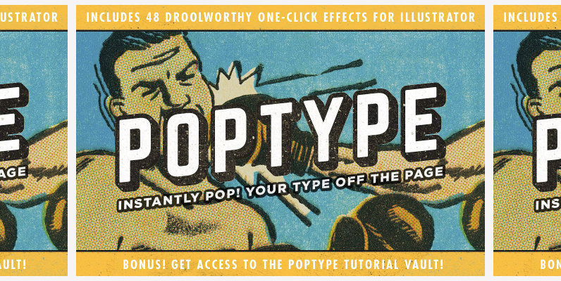 PopType   Graphic Styles and More
