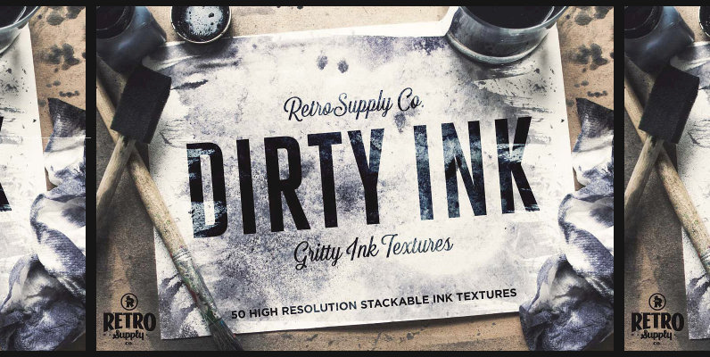Dirty Ink   Ink Wash Textures