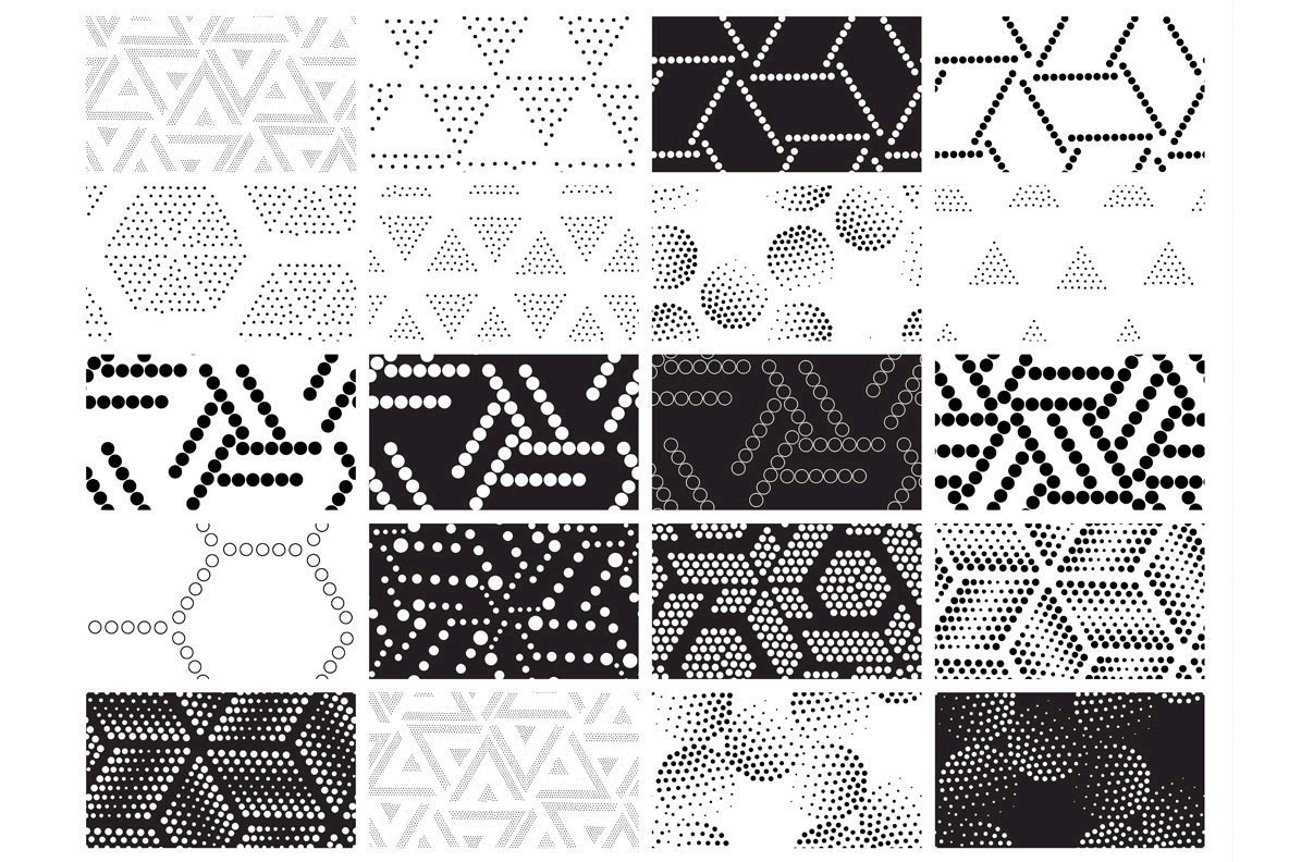 100 Universal Seamless Patterns