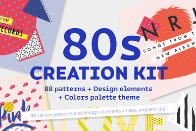 Eighties Creation Kit