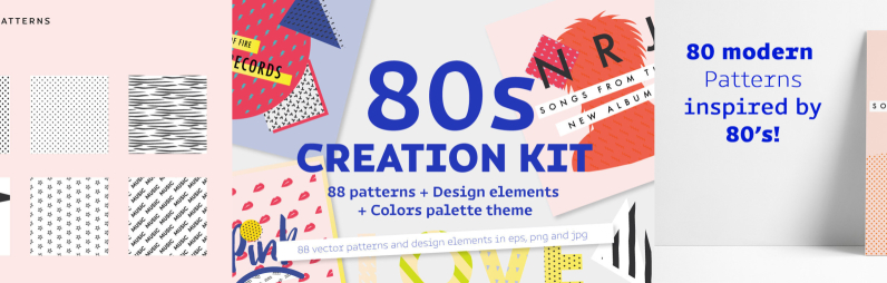 Eighties Creation Kit